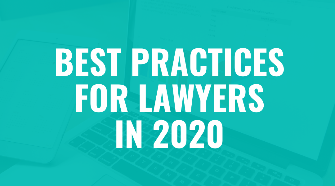 Best Marketing Practices for Lawyers in 2020 Webinar – With CosmoLex